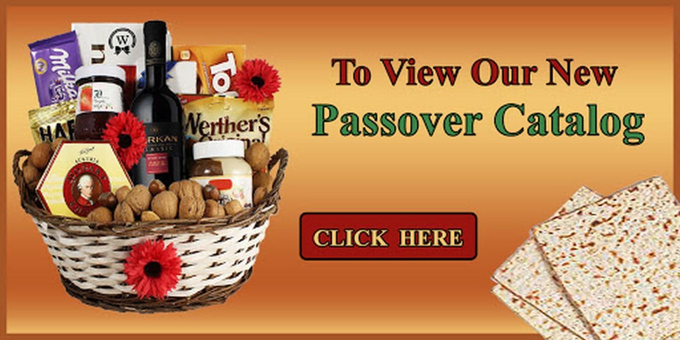 Kosher Passover Gift Baskets Delivered in Israel