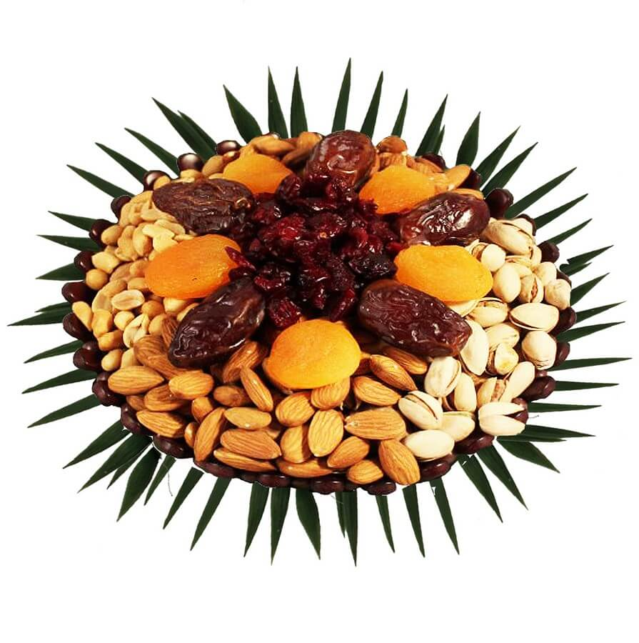 send nuts & dried fruits to israel