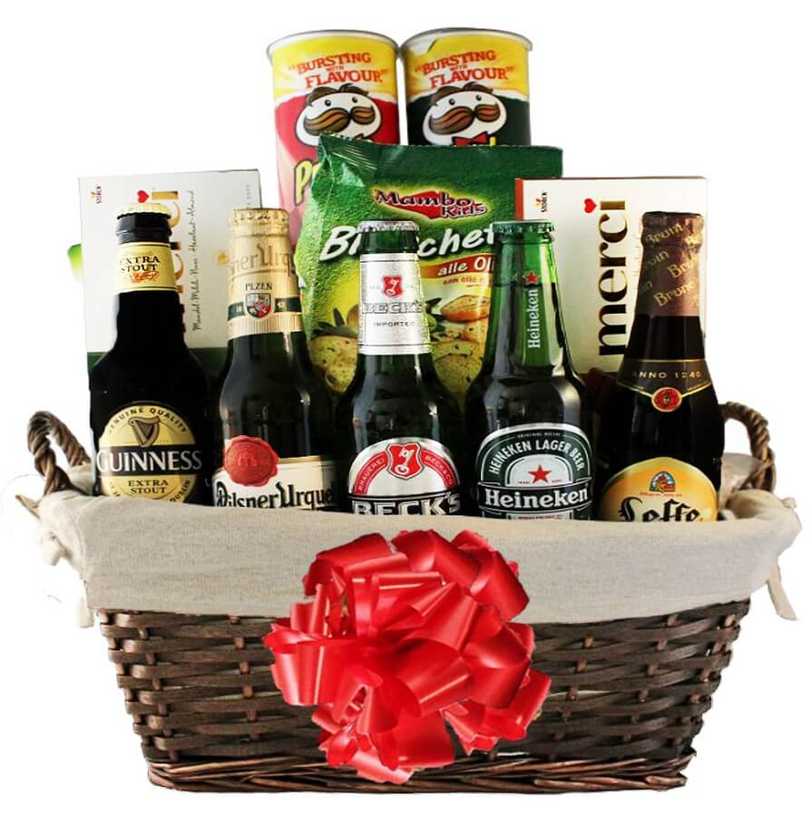 send beer gift baskets in israel