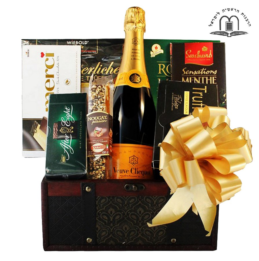 send veuve clicquet gift baskets to israel