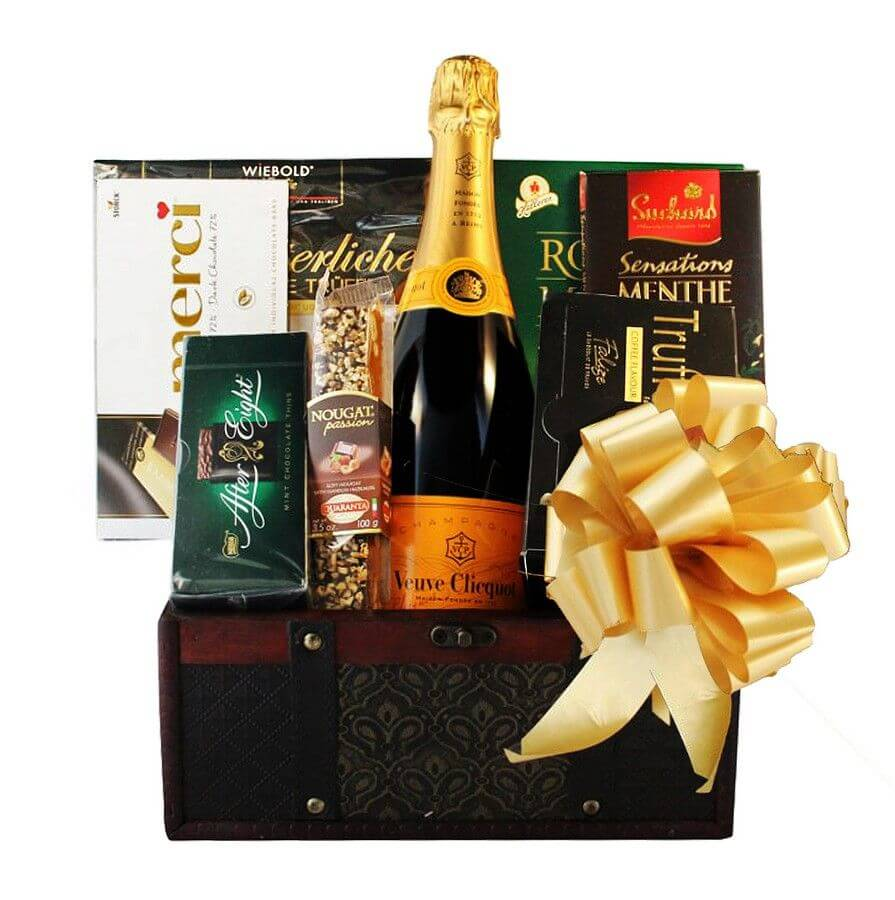 champagne gift baskets to israel