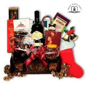 Christmas Joy Gift Basket Israel