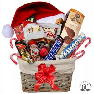 Christmas Treat Gift Basket Israel