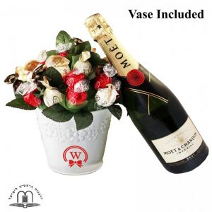 Classic Bouquet With Moet Champagne – Gift To Israel