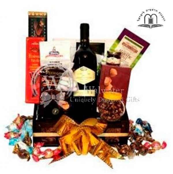 Classic Holiday Gift Basket To Israel (1)