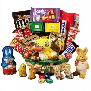 Easter Classic Gift – Basket In Israel
