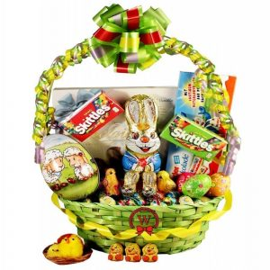 Easter Morning Gift Basket In Israel