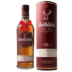 Glenfiddich Unique Solera Reserve 15 Year Old Speyside Single Malt Scotch 700ml
