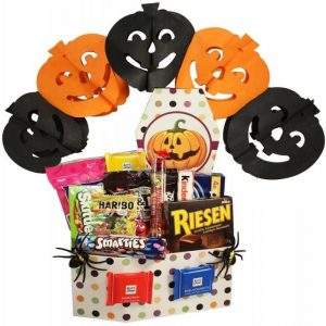 Halloween Collection Large Gift Basket In Israel