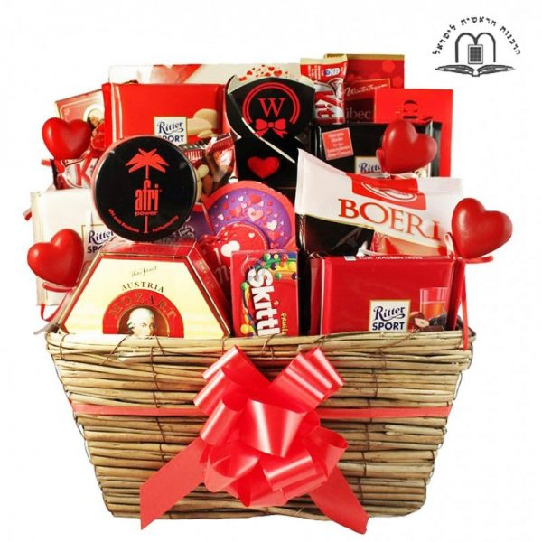 In the name of Love – Romantic Gift Basket Israel