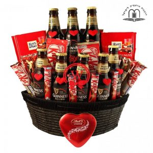 Irish Love Story – Guinness Beer Gift Basket Israel
