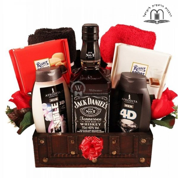Jack, My Man - Luxury Gift Basket Israel