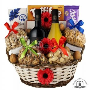 LeHaim Gift Basket – Wine Gift Basket To Israel