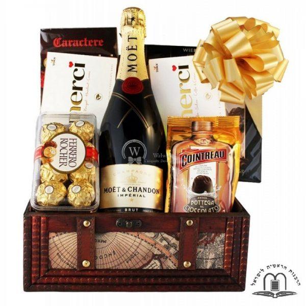 MOET Treasure Gift Basket To Israel