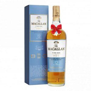 Macallan 12 Year Old Fine Oak Triple Cask Matured 700ml