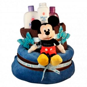 Mickey Mouse Diaper Nappy Cake
