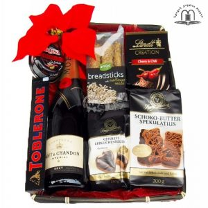 """""""Moet Pearl"""" Christmas Gift Basket To Israel"""