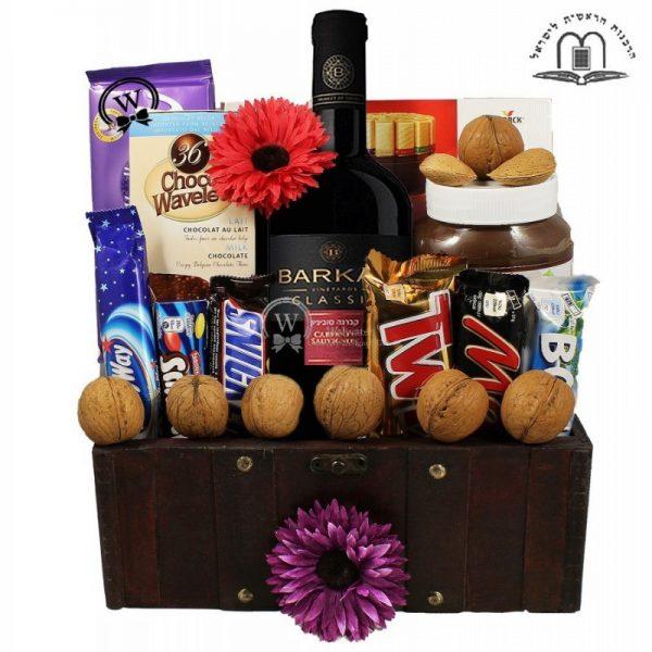 Moshe Treasure Box- Passover Gift Basket