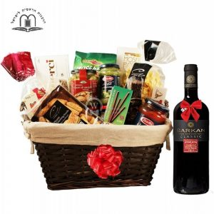 Perfecto D Italia – Red Wine Gift Basket Israel