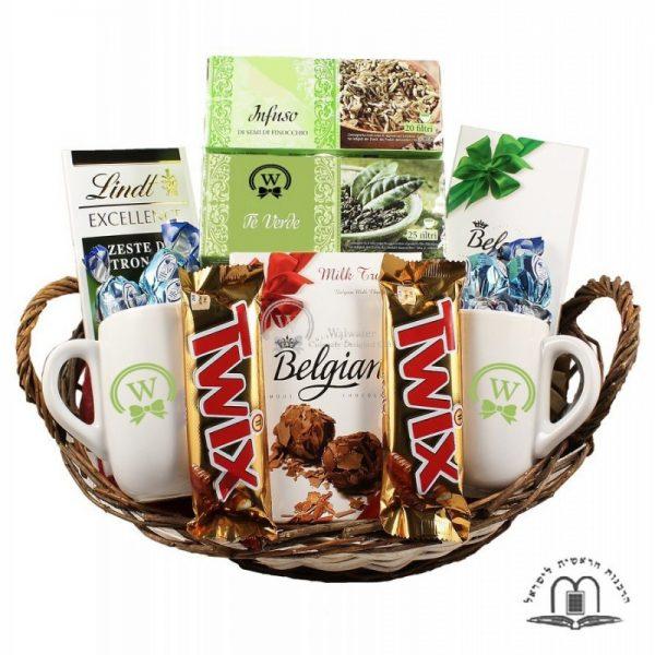The Relaxing Tea Basket – Gift Basket in Israel