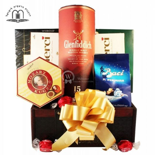 The Touch of Dufftown - Glenfiddich Gift Basket Israel