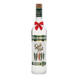 Stolichnaya Hot Vodka Jalapeño 700ml