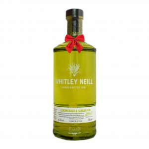 Whitley Neill Lemongrass & Ginger Gin 700ml